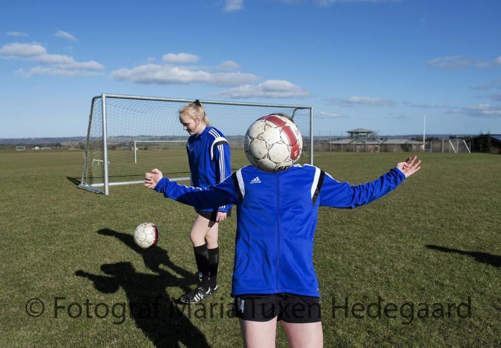 Brøruphus Efterskole. Fodboldlinjen.