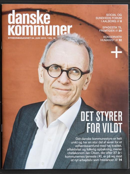 Cheføkonom hos KL Jan Olsen