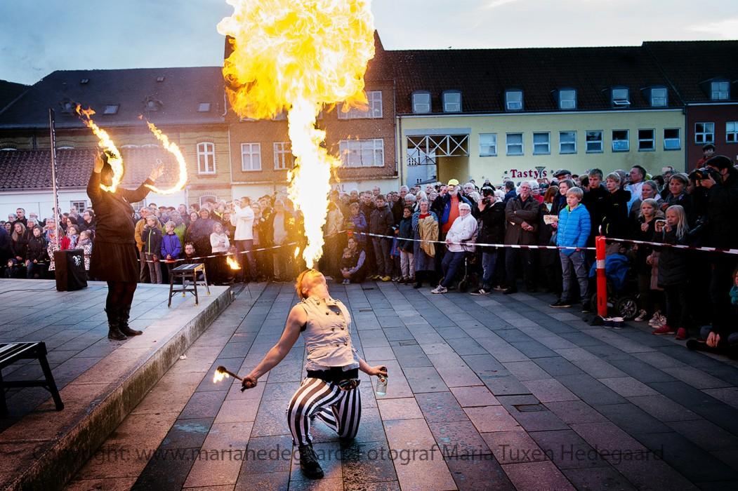70 året for Danmarks befrielse den 4. maj markeres i Haderslev med fakkeloptog, musik og lysshow. (JydskeVestkysten)