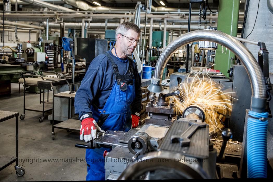Virksomheder Dansk Gummi i Kolding fylder 100 år (fotograferet til Dansk Gummi)