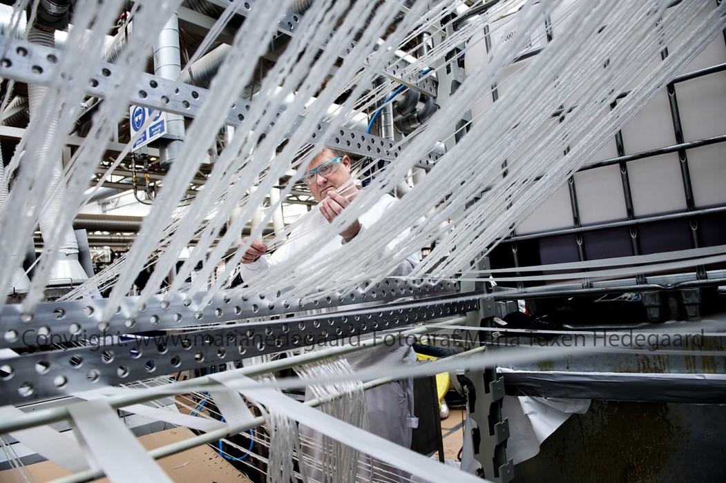Plastindustriens  har problemer med at rekruttere ingeniører. Blandt andet hos Fiberline i Middelfart.  (Fotograferet til Børsen)