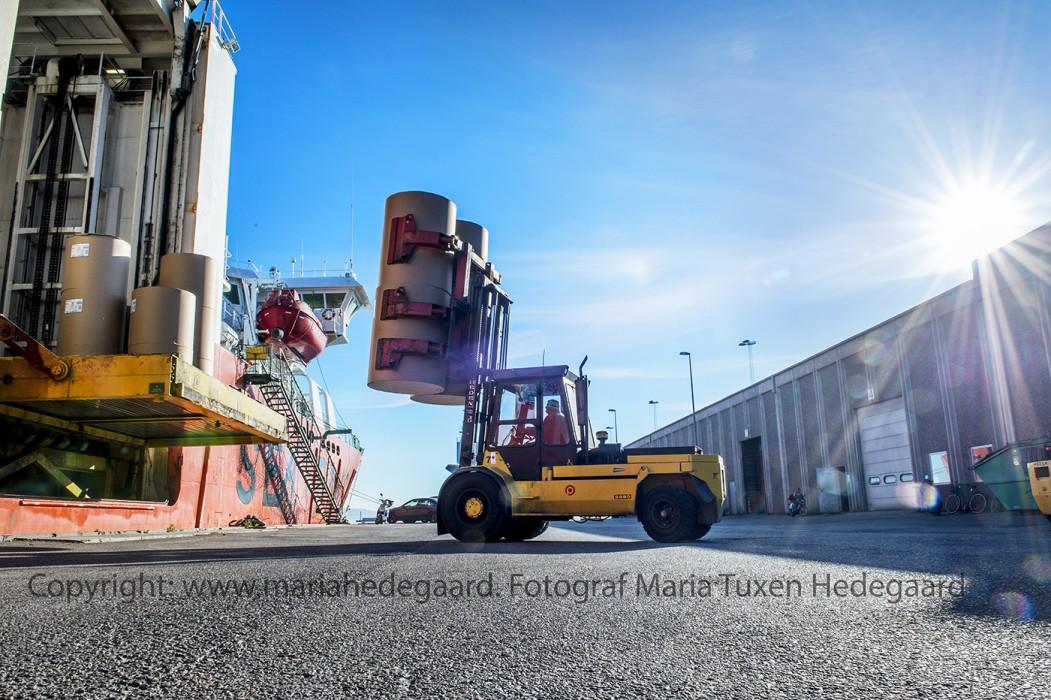 Logistikvirksomheden H. Daugaard A/S i Kolding